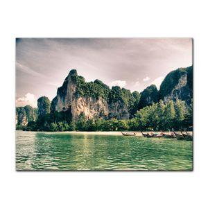 Leinwandbild - Thailand Landschaft, Größe:50 x 40 cm