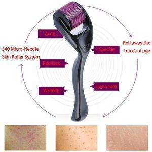 0.75mm Derma Roller Microneedling Gesicht Körper Dermaroller Micronadeln Derma Roller für Gesicht und Körper Anti Aging Cellulite Falten Narben