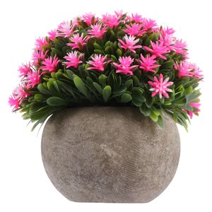 1Pc Simulation Plant Ornament Künstliche Bonsai Fake Gypsophila Topfpflanze