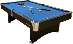 Buckshot Billardtisch 9ft Manhattan - 282x155x80 cm - 9 Fuß Pool Billard - Kugelrücklauf - Tischbillard mit Zubehör - Billard Tische 150kg