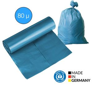 50x Müllsack Mülltüte Müllsäcke 120 Liter Sack Abfallsack 80 μ Abfallsäcke