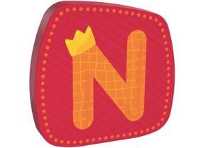 HABA Holzbuchstabe N, Buchstaben, Türschild, Wand, Dekoration, Kinderzimmer, Kind, Baby, 302459