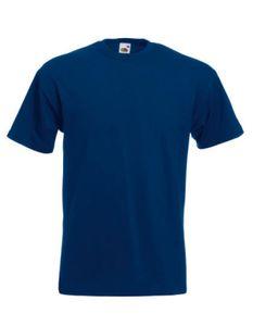 Super Premium Herren T-Shirt - Farbe: Navy - Größe: 3XL