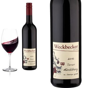 2016 Hatzenporter Kirchberg Barrique gereift von Weingut Weckbecker - Rotwein