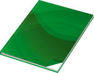 24x Kladde / Notizbuch / DIN A4 / 96 Blatt / blanko / 70g/m²
