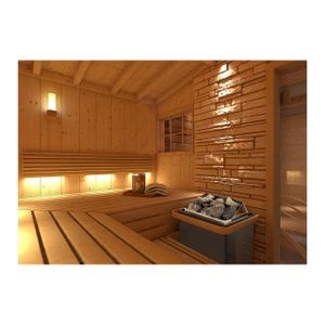 Uniprodo Saunaofen - 8 kW - 30 bis 110 °C