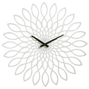Sompex Clocks Wanduhr Oslo, Farbe:weiß