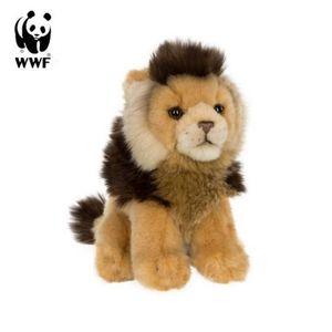 WWF Plüschtier Löwe (19cm) lebensecht Kuscheltier Stofftier Raubkatze Afrika
