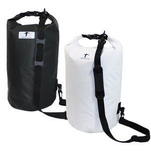 Red Loon Dry Bag Packsack Seesack Packtasche LKW-Plane wasserdicht reißfest, Herstellernummer:VDP64167, Farbe:weiss, Kapazität:15 Liter