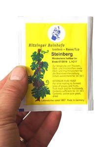 'Arauner' Trockenhefe Steinberg 5 Gramm = ausreichend für bis zu 50 Liter