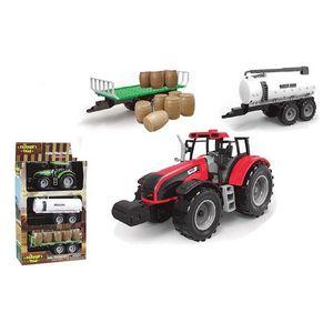 Traktor (26 x 10 x 28,5 cm)  BigBuy Fun