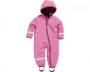 Playshoes Overall Softshell pink Mädchen 430250-18, Farbe Playshoes:pink, Größe Playshoes:74
