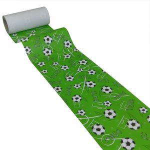 50m*0,20m JUNOPAX Papier Tischband Fußball