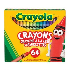 Crayola wachsmalkreiden 64 Stück