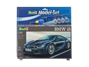 Revell Model Set BMW i8 - Auto-Modellbausatz; 67008