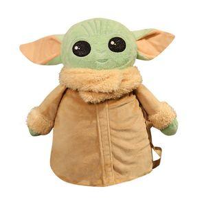 Spot Star Wars Babyyoda Yoda Baby der Schule Tasche Plüsch Spielzeug Rucksack Puppe Kissen Anime Peripheren