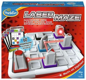 Ravensburger Thinkfun Familienspiel Logikspiel Laser Maze 76356