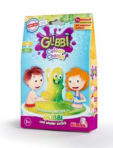 Glibbi Color Change, Farbwahl - Badespaß mit Farbwechsel ab 3 Jahren Monstergelb in Drachengrün
