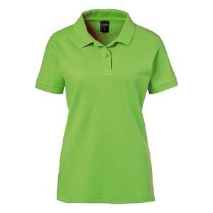 Damen Poloshirt : lemon green 100% Baumwolle 180 g/m² XS
