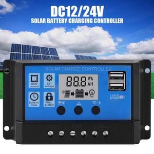 100A Solar Panel Controller HD LCD Batterie Laderegler Intelligente Controller fuer Heimgebrauch Strassenlaterne