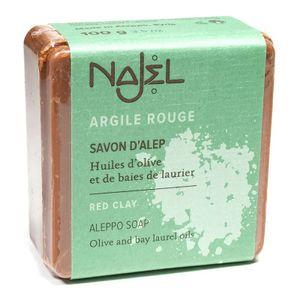 Najel Aleppo Peelingseife Totes Meer und  roter Tonerde im Set 2 x 100 g