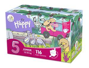 bella baby Happy Windeln Gr.5 Junior 12-25kg HAPPY BOX 116 Stück