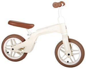 Kinder Laufrad Volare 10 Zoll Cremefarben Lenker höhenverstellbar 2-4 Jahre
