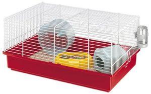 hamsterkäfig Criceti 46 x 29,5 x 22,5 cm stahlrot