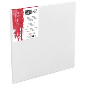 Artina Premium Keilrahmen Leinwand, Größe:80x80x1 cm
