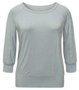Yoga Curves Collection 3/4 Shirt - jade 58/60