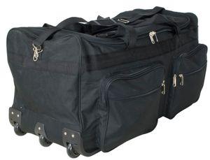 KoTaRu Reisetasche XL - Robuste Sporttasche mit 3 Rollen 80cm 128 Liter
