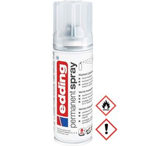 Edding Permanent Spray Premium Acryllack in Klarlack glänzend 200ml