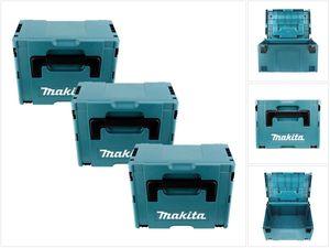 Makita MAKPAC Systemkoffer Gr. 3 im 3er-Set