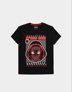 Spider-Man - Miles Morales - Miles Hood - T-shirt - M - Spider-Man TS034762SPN-M - (T-shirts and Tops / Short Sleeved T-shirts)