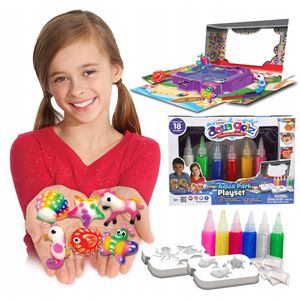 Aqua Gelz magisches Gel Wasserpark Set 6 Farben Formen Spielzeug Kreativ Kinder Discovery Dumel
