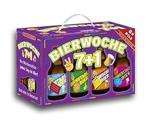 Bierwoche 7+1 Bier 8er Geschenkkarton (8 x 0.33 l) (6,81 EUR / l)