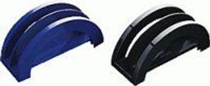 arlac Briefständer/228.01 78x158x61 mm schwarz Kunststoff