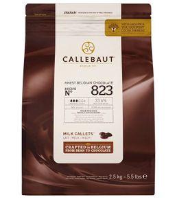 Vollmilch Callets Callebaut N°823 NV  - 2,5kg