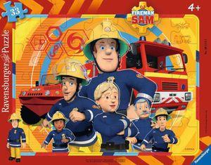 Sam, der Feuerwehrmann 30-48 T. Rahmenpuzzles