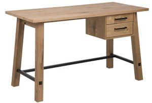 Schreibtisch Arbeitsplatz massiv Schreibtisch Tisch Computertisch Holz Büro