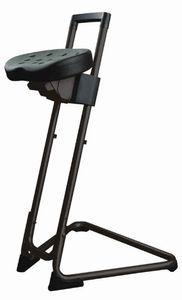 """Lotz Stehhilfe """"Die Standhafte"""" 3600.01 Gestell und Sitz schwarz belastbar bis 120 kg"""