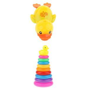 10 Stk.Badespielzeug Baby, Badewannen Spielzeug Wasserspielzeug Set, Stapelbecher Spielzeug für Baby und Kleinkinder, BPA Frei