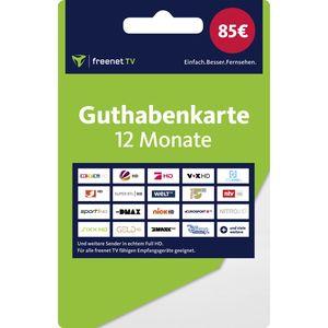 12 Monate freenet TV Guthabenkarte (Versand mit Paketdienst)