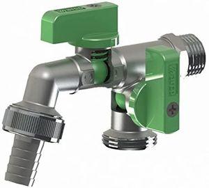 BFG Wasserhahn Mit Zwei Auslassventilen Wasseranschluss einzeln absperrbaren