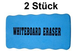 Whiteboard Schwamm magnetisch, 2 Stück pro Pack