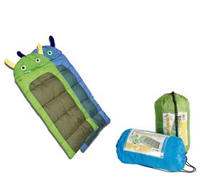 Junior Kinder Schlafsack Monster Decke 170cm Kinderschlafsack Camping Outdoor