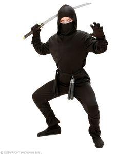 Kostüm Ninja  Preishit - Ninja Verkleidung Jungen Kämpfer M - 140 cm