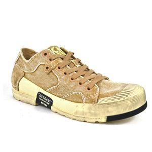 Yellow Cab MUD 302 b Sneakers Canvas Low Top Sneaker Herren Schuh : 40 Beige