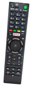 Sony Ersatz Universalfernbedienung mit Netflix-Tasten, Für SONY Bravia Smart TV