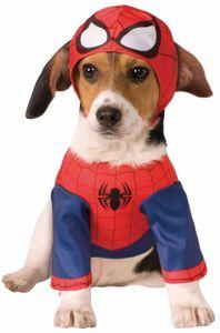 Spiderman Hunde Kostüm, Größe:XL